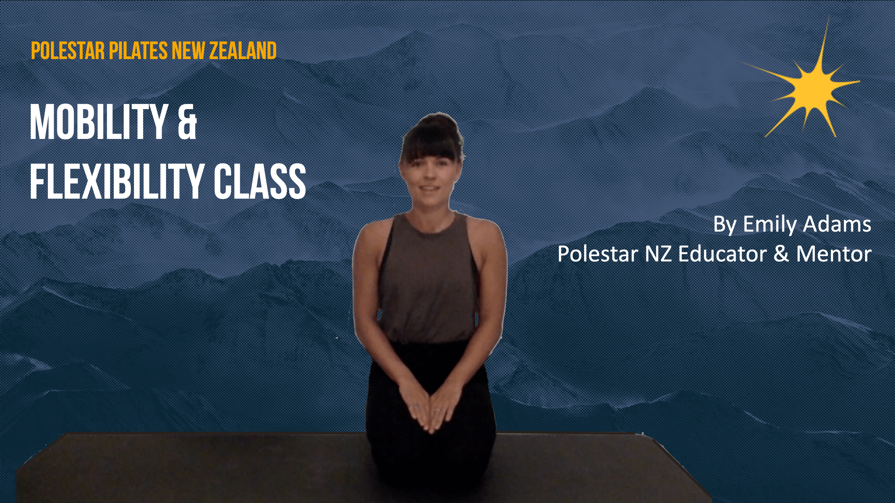 Mobility: flexibility Class with Emily